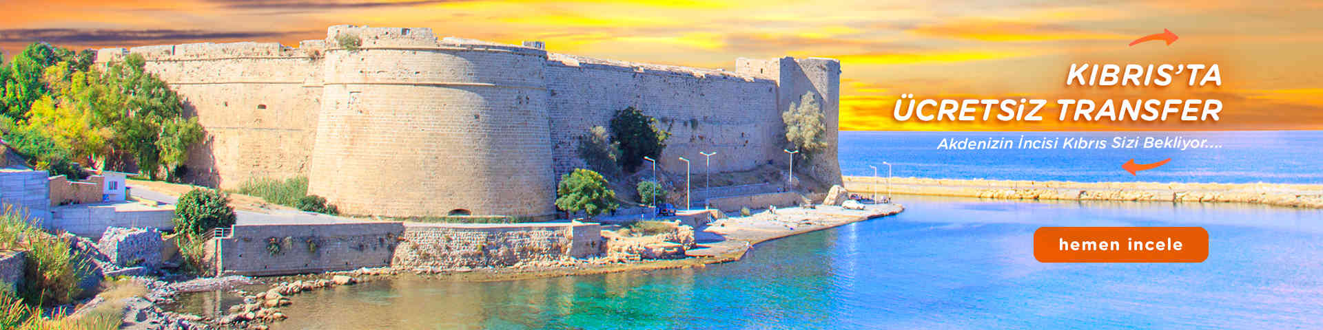 Kıbrıs'ta Ücretsiz Transfer
