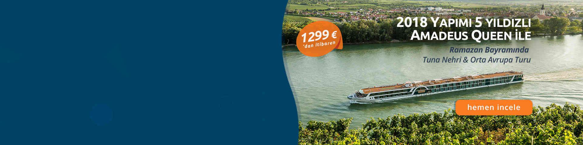 Ramazan Bayramında Tuna Nehri Orta Avrupa Turu