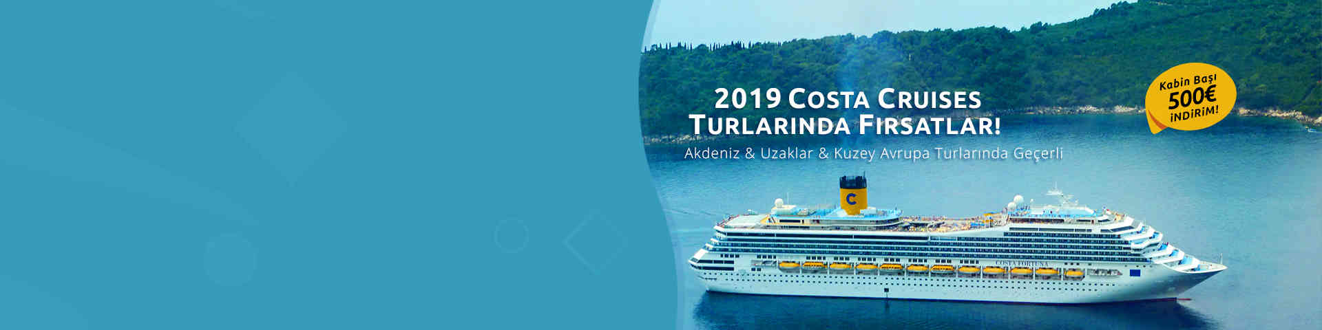 Costa Cruises Turları