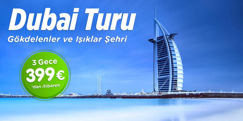 Dubai Turu Air Arabia Havayolları ile