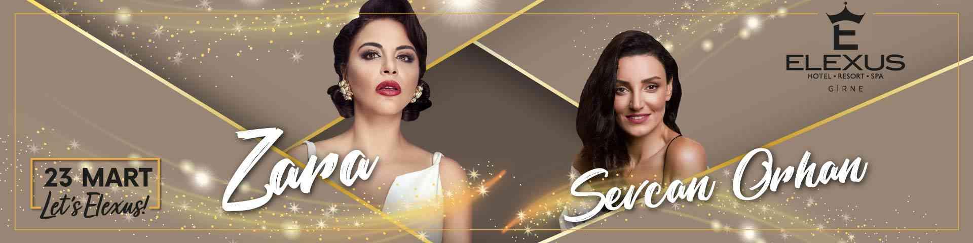 23 Mart Zara & Sevcan Orhan Konseri
