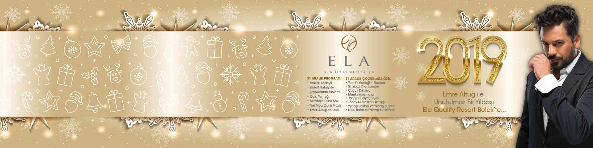 Ela Quality Emre Altuğ Yılbaşı Galası