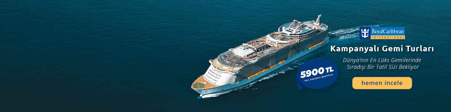 Kampanyalı Gemi Turları