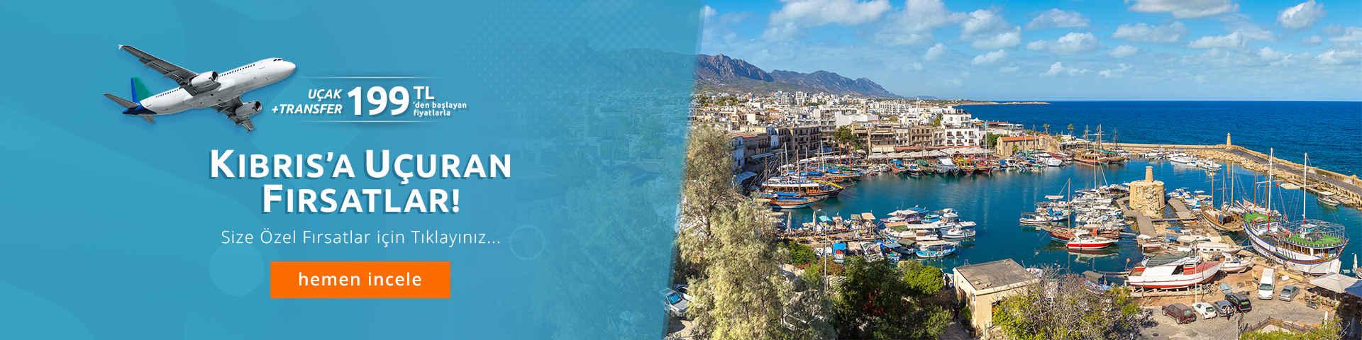 Avantajlı Kıbrıs Uçak Bileti