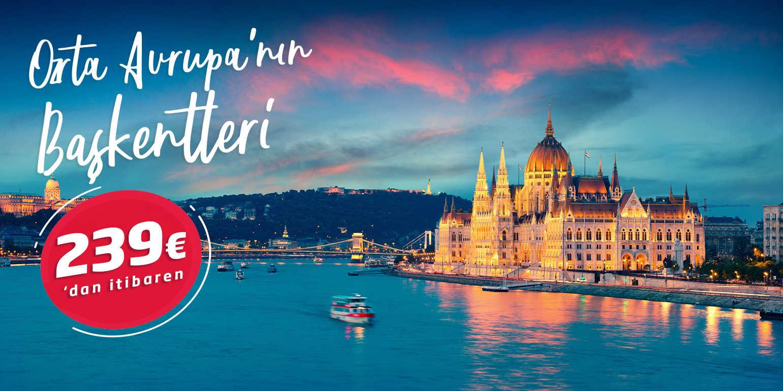 Otobüslü Orta Avrupa'nın Başkentleri Turu