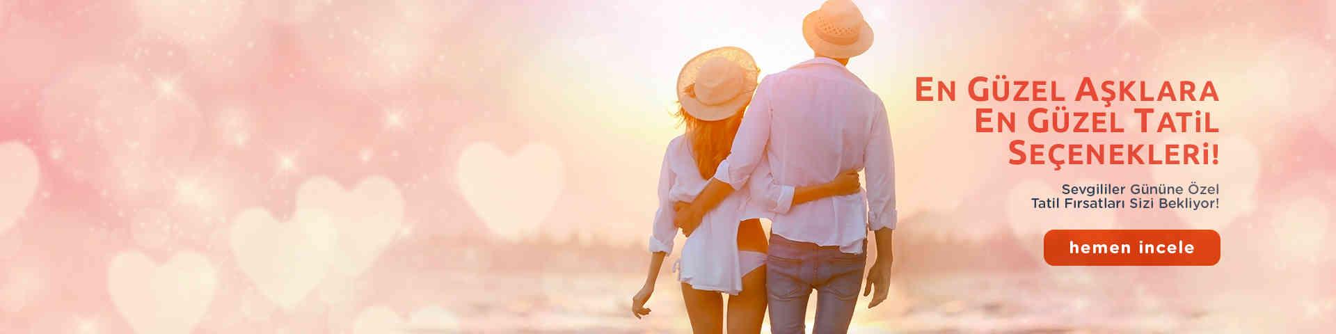En Güzel Aşklara En Güzel Tatil Seçenekleri