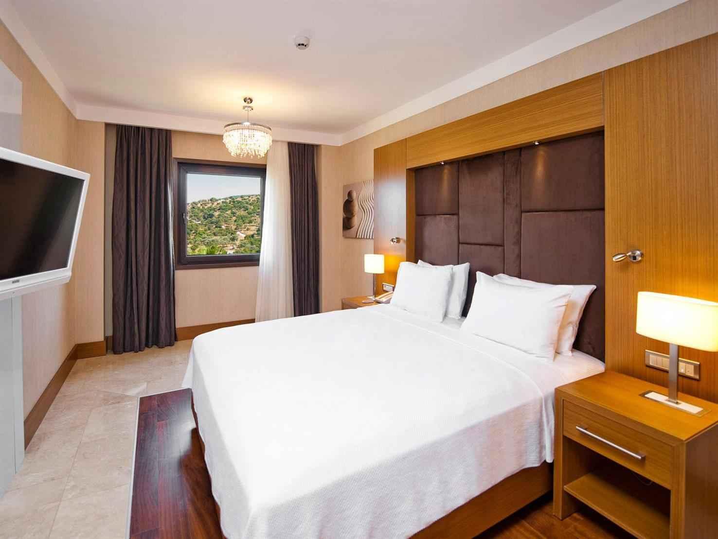 Tek Yatak Odalı Kara Manzaralı Suite Oda