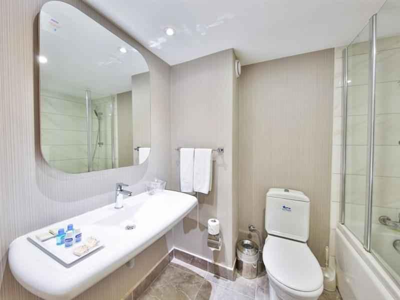 Standart Deniz Manzaralı Oda Banyo