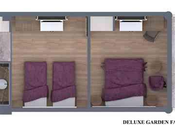 Deluxe Bahçe Aile Odası