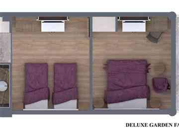 Deluxe Bahçe Aile Odası- Özel Fiyat