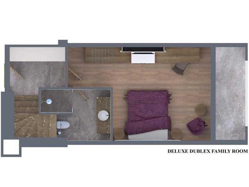 Deluxe Dublex Aile Odası