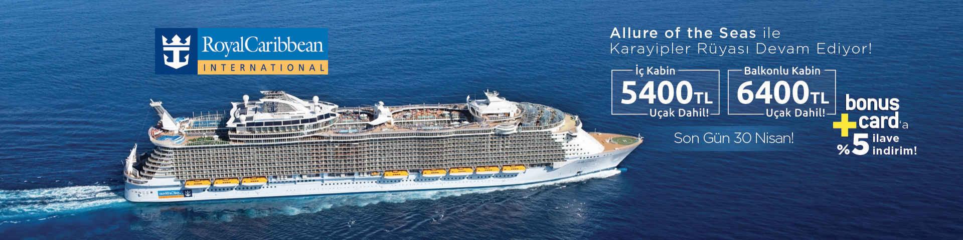 Allure Of The Seas İle Doğu Karayipler