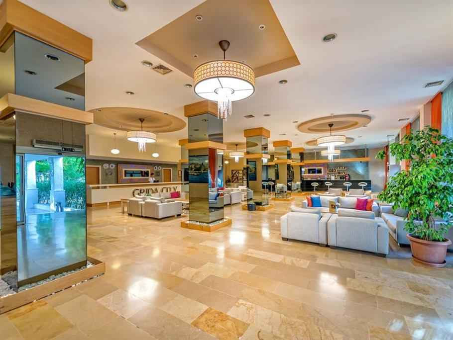 Grida City Hotel Turkiye Antalya Merkez 450 Yurt Ici Oteller